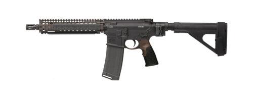 Daniel Defense DDM4 MK18 5.56mm Pistol Black/FDE w/ Law Tactical Folder
