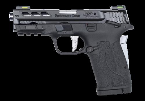 Smith & Wesson Performance Center M&P380 Shield EZ M2.0 Silver Ported Barrel