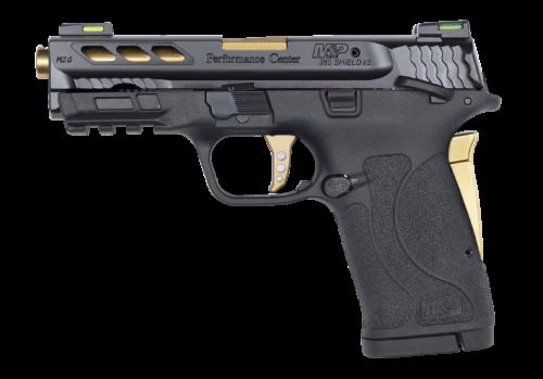 Smith & Wesson Performance Center M&P380 Shield EZ M2.0 Gold Ported Barrel