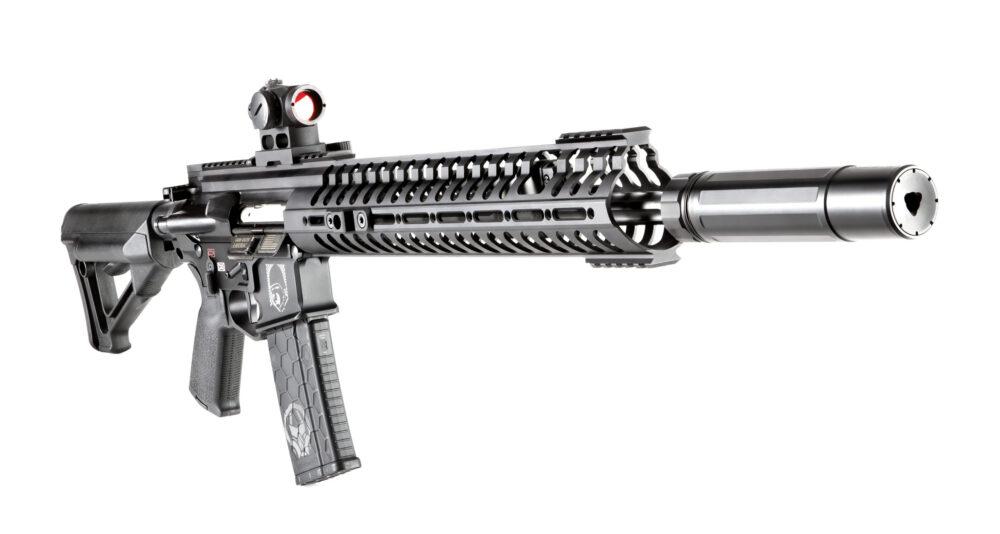 Dead Air Armament Sandman-S 7.62mm Rifle Silencer w/ Mount