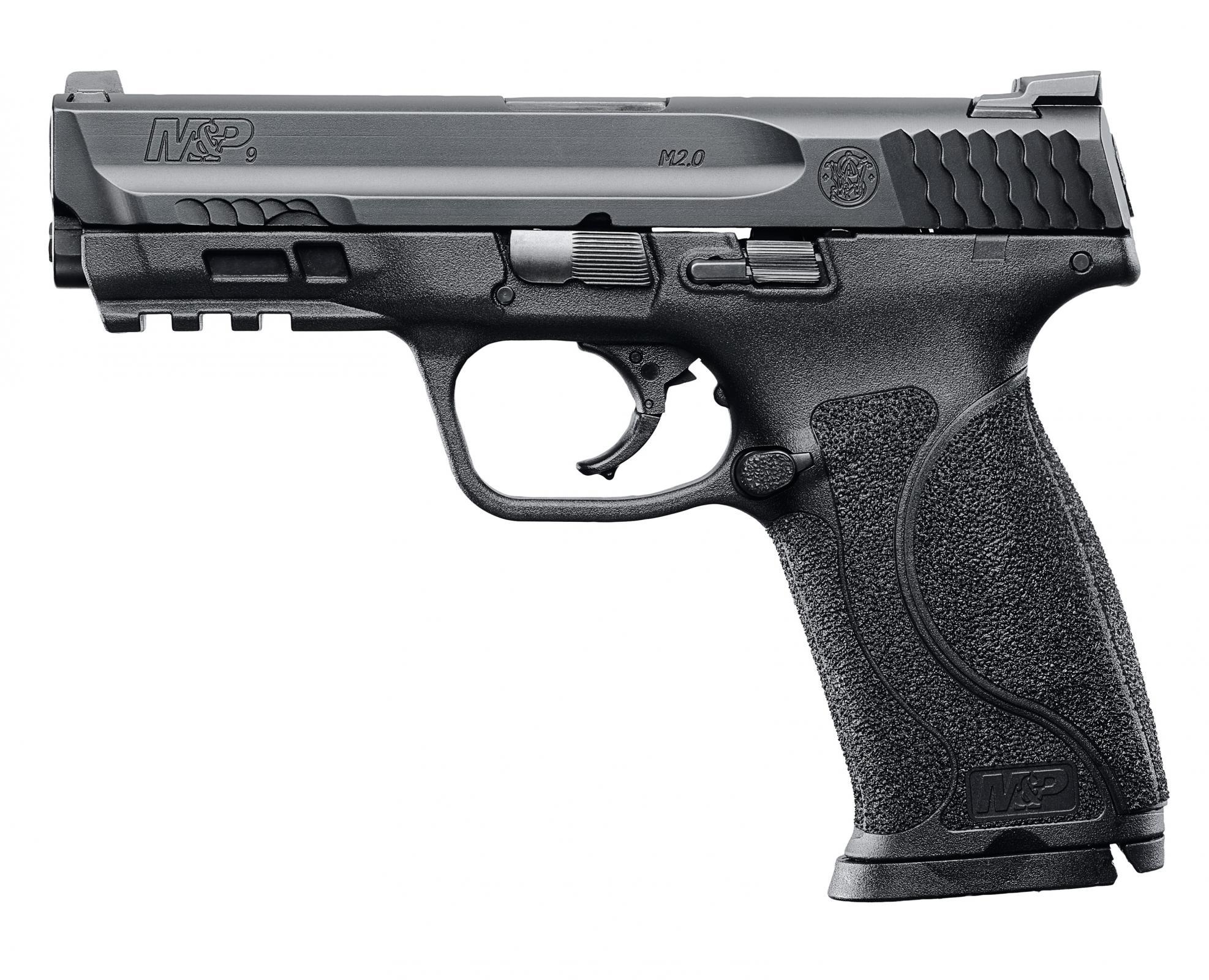 Smith & Wesson M&P9 M2.0 9mm Pistol, Black (11521)
