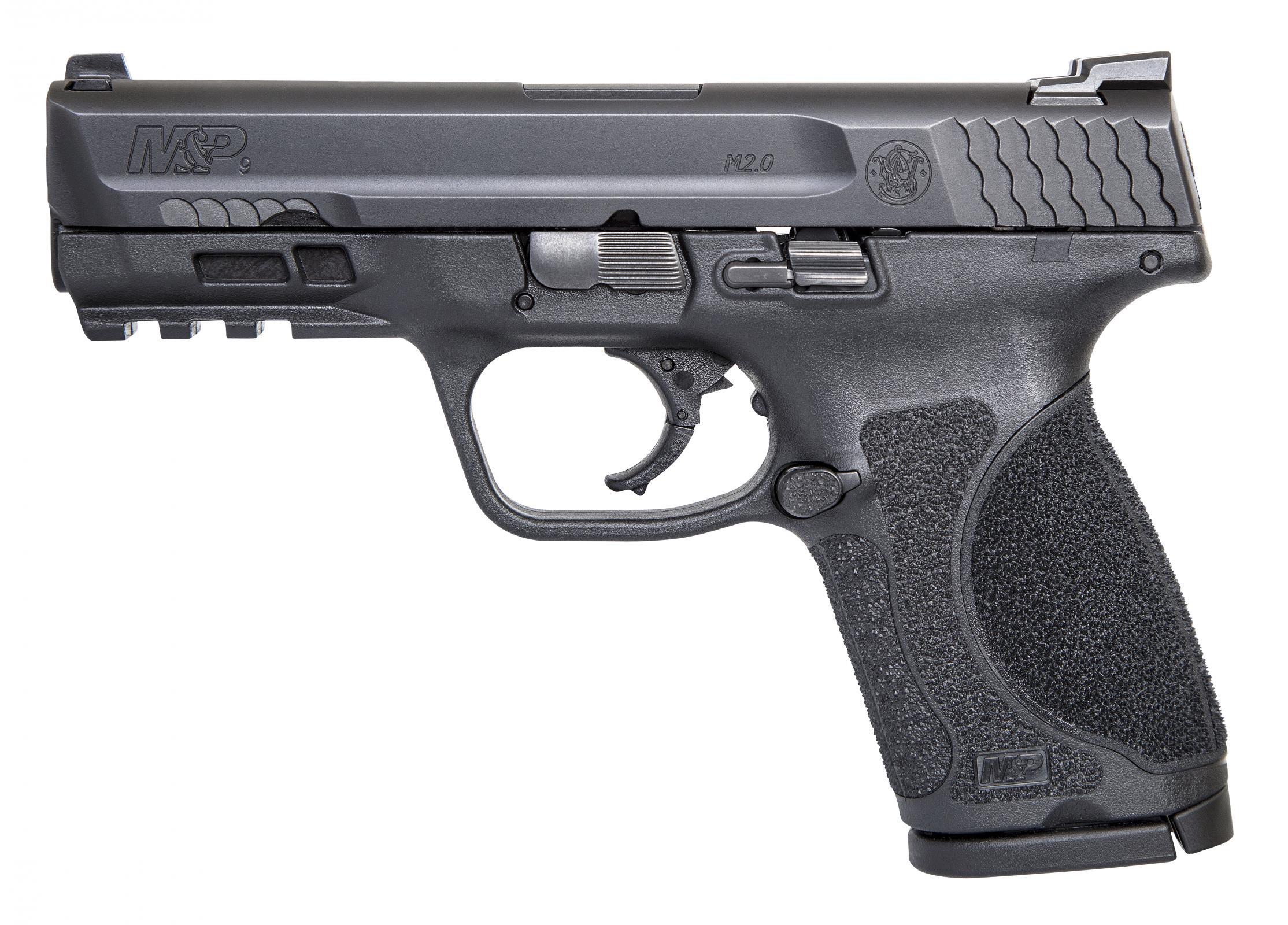 Smith & Wesson M&P9 M2.0 Compact 9mm Pistol, Black (11683)