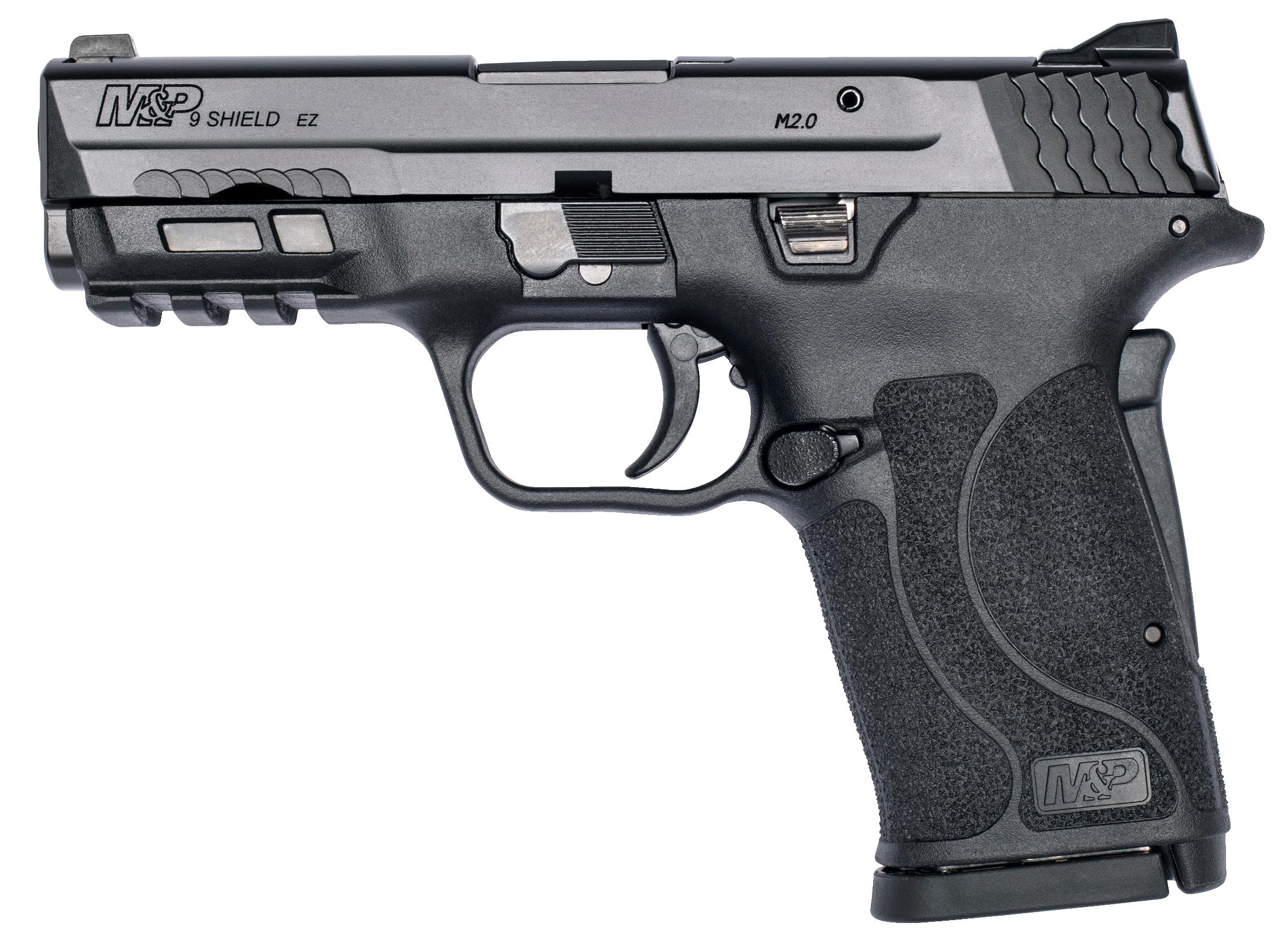 Smith & Wesson M&P9 Shield EZ M2.0 9mm Pistol, Black (12437)