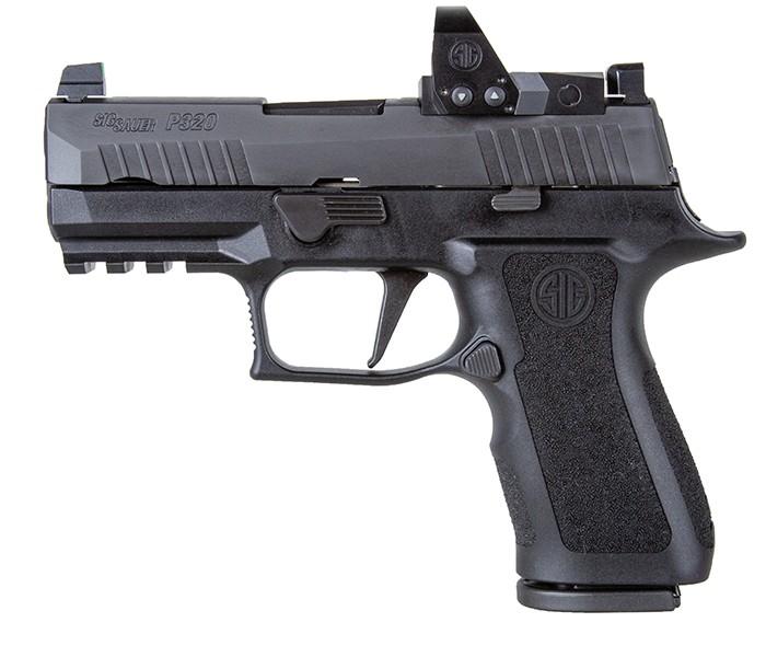 Sig Sauer P320 X-Compact 9mm Pistol Black with Romeo1 Pro Optic