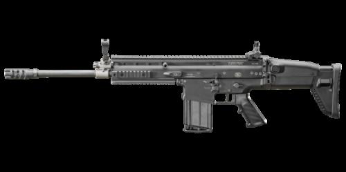 FNH SCAR 17S 7.62mm Semi-Auto Rifle Black