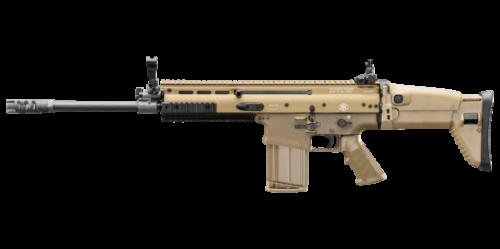 FNH SCAR 17S 308 Win Semi-Auto Rifle FDE