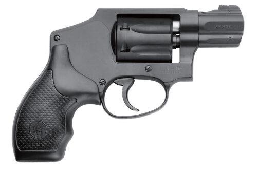 Smith & Wesson 351C 22 Magnum Revolver Black