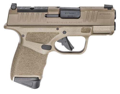 Springfield Armory Hellcat OSP 9mm Pistol Desert FDE with Night Sights