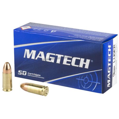 Magtech 9mm FMJ Ammunition