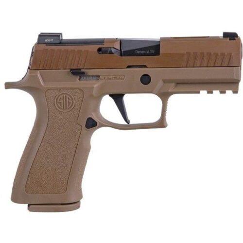 Sig Sauer P320 X-Carry, 9mm Pistol, Coyote (W320XCA-9-BXR3-COY)-Sig Professional Program