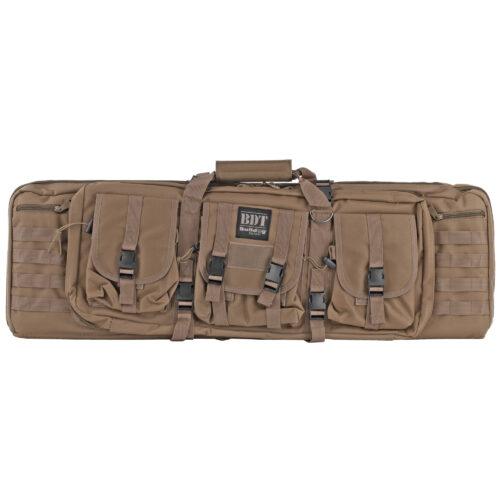 Bulldog BDT Tactical, Double Rifle Case, 37 in., Tan (BDT60-37T)