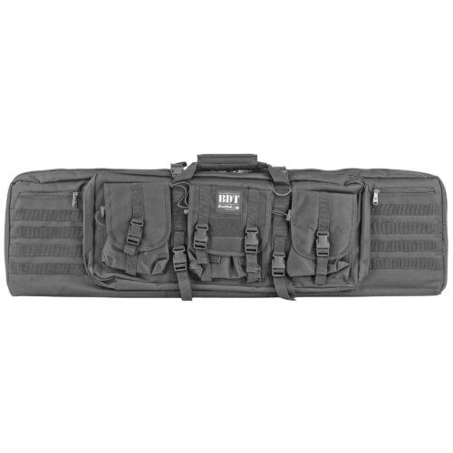 "Bulldog BDT60-43B Tactical Double Rifle Case 43"" Black"