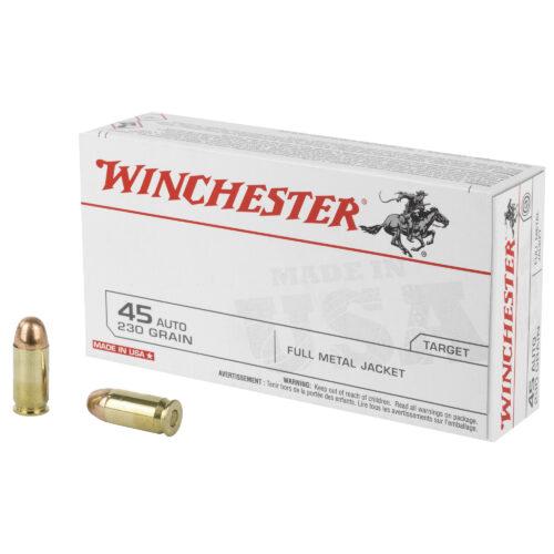 Winchester 45ACP 230Gr FMJ Ammunition (Q4170)