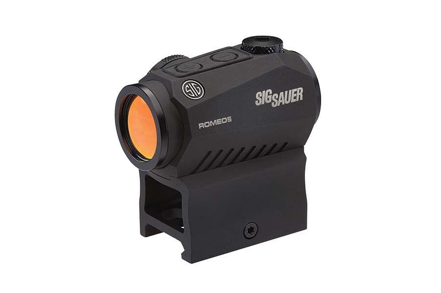 Sig Sauer Romeo5, 1x20mm Compact Red Dot Sight, 2 MOA, Black (SOR52001)