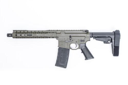 Black Rain Ordnance AR Pistol w/SBA3 Brace OD Green