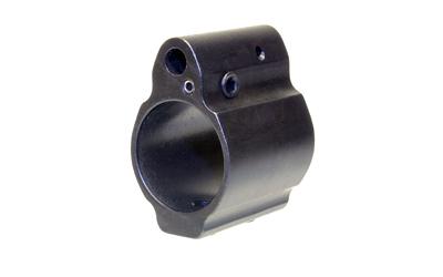 Ergo Grip, Gas Block, Low Profile, Adjustable, .750 Barrel,Black Finish