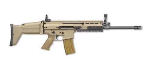 FN SCAR 16S, 5.56 NATO Semi-Auto Rifle, FDE