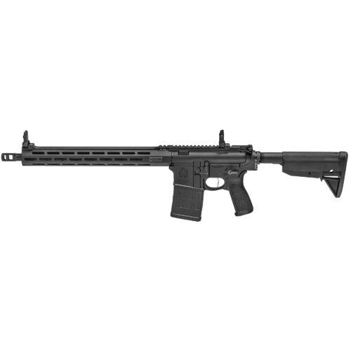 Sprinfield Armory Saint Victor, .308 Win, Semi-Auto Rifle, BCM 6-Position Stock, BCM Mod.3 Grip, Black (STV916308B)
