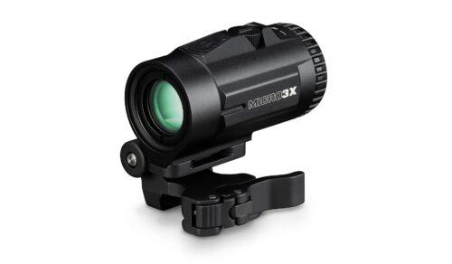 Vortex Micro3X Magnifier, with Quick Release Flip Mount (V3XM)