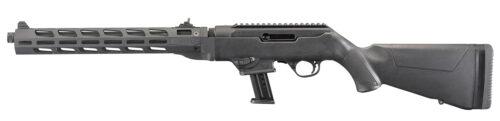 Ruger PC Carbine 9mm Luger Threaded Fluted M-LOK, Black