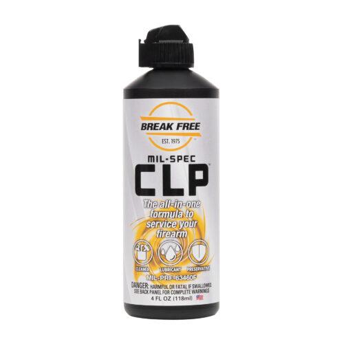 BREAK FREE MIL-SPEC CLP, 4 oz. (118ml) Squeeze Bottle