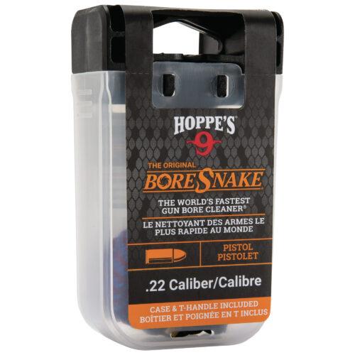 BoreSnake, BoreSnake, Bore Cleaner, For .22 Caliber Pistol, Storage Case With Handle