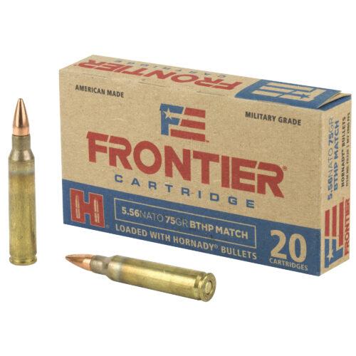 Hornady Frontier 5.56mm 75 Grain BTHP Match Ammunition (FR320)