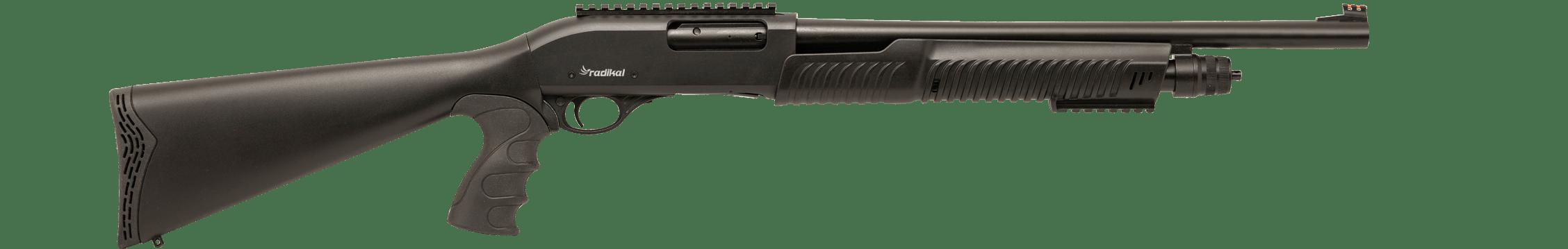 Radikal Arms P-3, 12Ga. Tactical Pump-Action Shotgun, Black (P3)