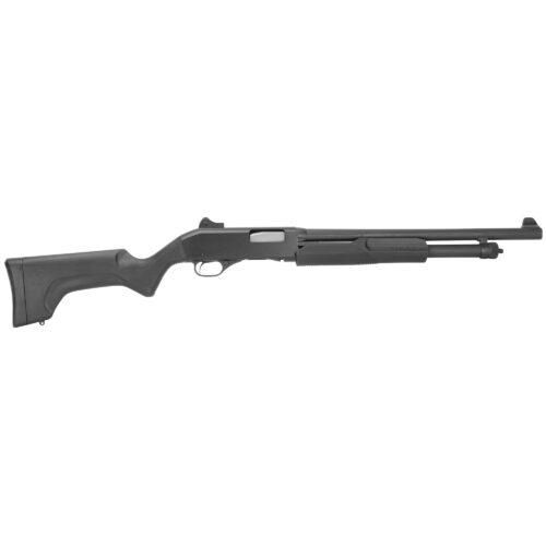 Savage Arms Stevens 320 Security 12 Gauge Pump Action Shotgun, Ghost Ring Sight (19487)