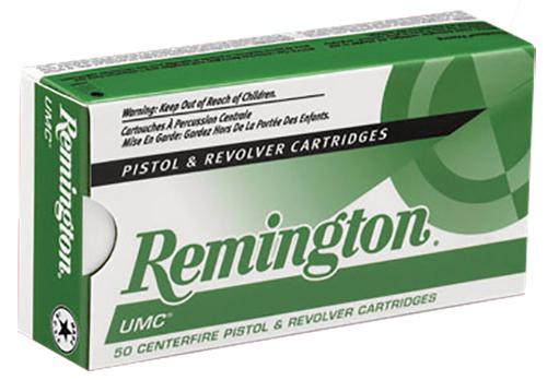 Remington UMC 357 Sig, 125 gr, (FMJ) Ammunition, 50 Rd. Box