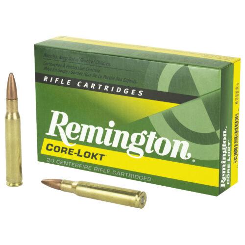 Remington Core-Lokt 30-06 Springfield 180 Grain Pointed Soft Point Ammunition