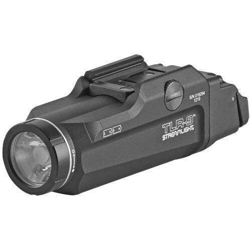 Streamlight TLR-9 Flex, Low Profile Tactical Flashlight, 1000 Lumens, Black