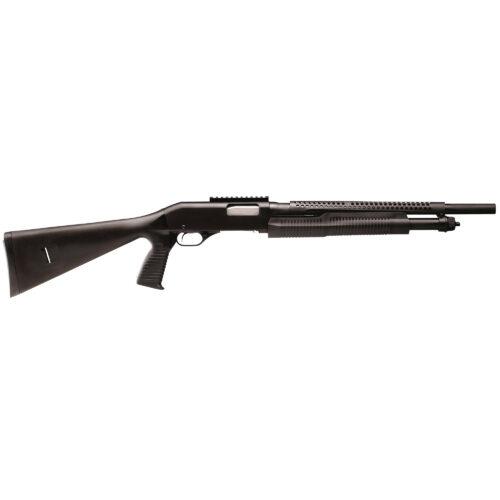 Stevens 320 Security, 12 Ga. Shotgun, Pistol Grip, Weaver Style Rail, Heat Shield, Bead Sight