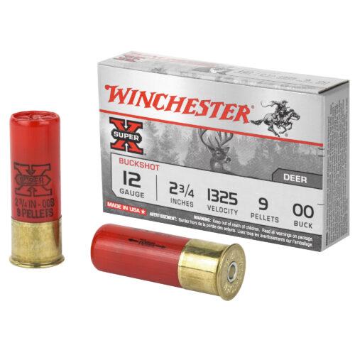 Winchester Super-X 12 Gauge 00 Buckshot Shotgun Ammuntion