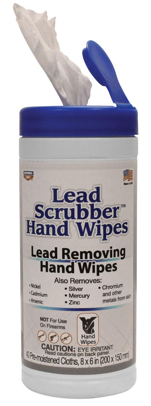 Birchwood Casey Lead Scrubber Hand Wipes, 40 Per Pkg (32440)