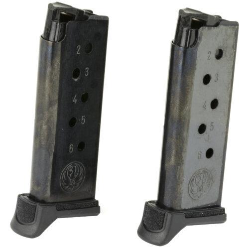 Ruger 90644 LCPII380 ACP 6 Round Steel