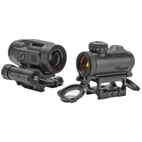 Sig Sauer Romeo-MSR Red Dot & Juliet 3-Micro Magnifier Combo (SORJ72001)