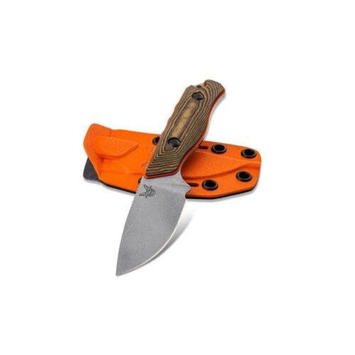 Benchmade Hidden Canyon Hunter Fixed Blade w/Sheath (15017-1)