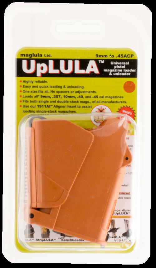 Maglula UpLulua Magazine Loader 9mm-45ACP Orange (UP60BO)