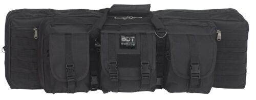 """Bulldog BDT, Double Tactical Rifle Case, 37"""" Black (BDT60-37B)"""
