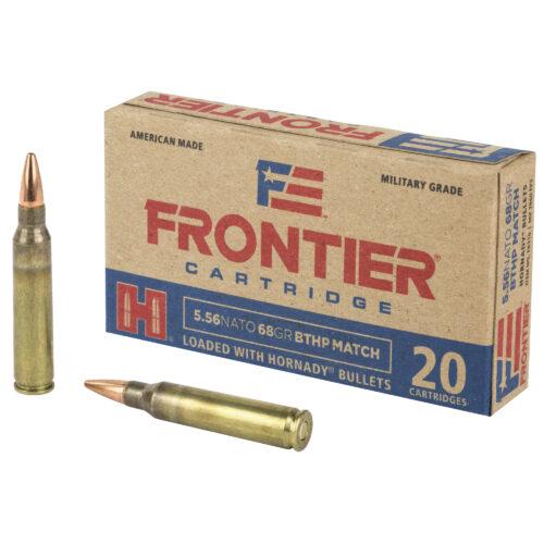 Hornady Frontier 5.56mm 68 Grain BTHP Match Ammunition (FR310)