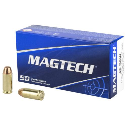 Magtech 40S&W 180 Grain FMJ Ammunition (40B)