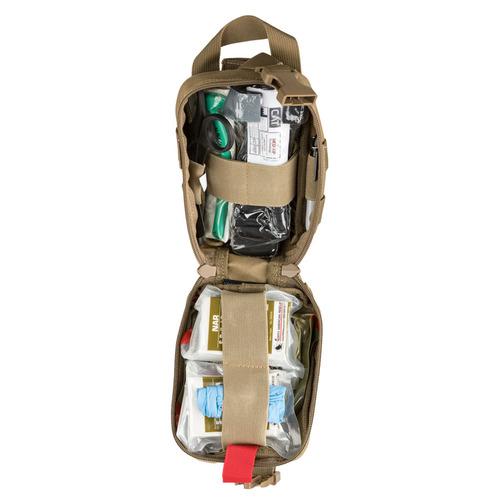 Spartan Armor Systems Advanced Individual First Aid Kit Black (SAS-AFAK-BK-KIT)