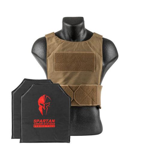 Spartan Armor Systems Flex Fused Core IIIA Soft Body Armor and Spartan DL Concealment Plate Carrier (SAS-PKG-PLYIIIA-SDLPC-CT-KIT)