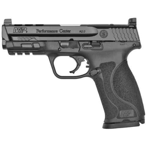 "Smith & Wesson Performance Center M&P9 M2.0 Pistol, Ported 4.25"" Barrel and Slide C.O.R.E., Black (11831)"