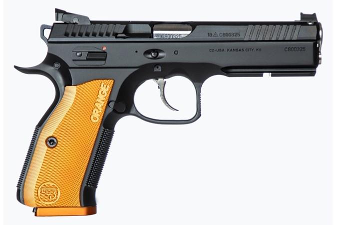 CZ Shadow 2 Orange 9mm Pistol (91249)