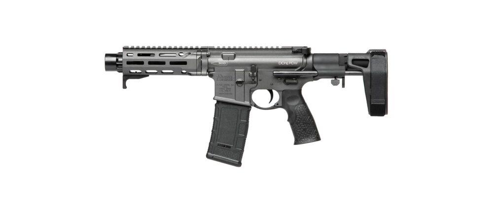 Daniel Defense DDM4 PDW 300 BLK Pistol, Cobalt (02-088-03260-047)