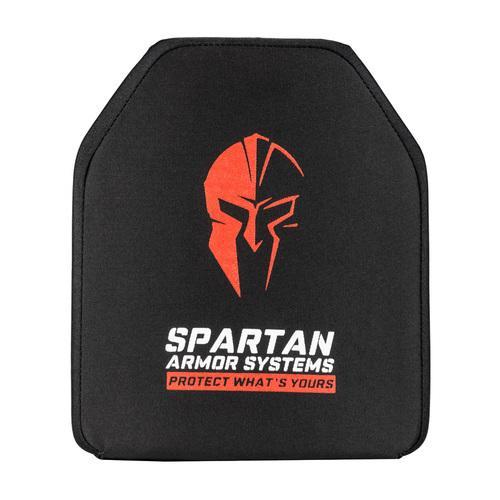 Spartan Armor Systems Level IV, Shooters Cut, Rifle Ceramic Body Armor, Set of Two (SAS-IVMH1012)