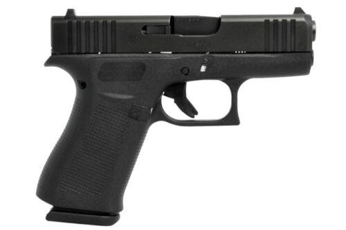 Glock G43X 9mm Pistol, Black (PX4350702)-Blue Label Program
