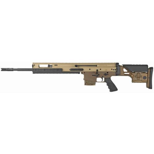 FN Scar 20S, 6.5 Creedmoor, with NRCH Charging Handle, FDE (38-100543-2)